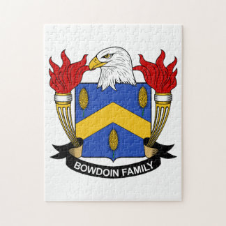 Bowdoin Family Crest Puzzles