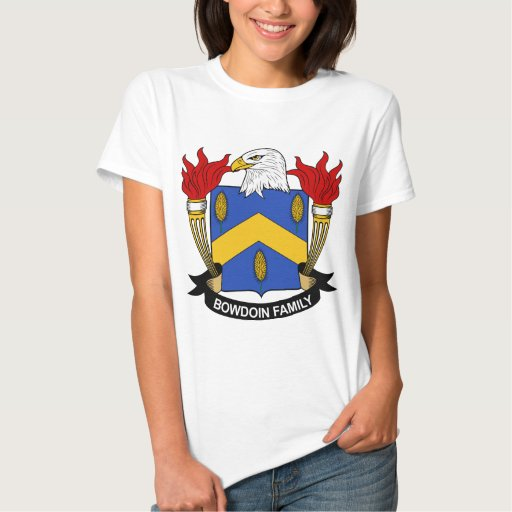 Bowdoin Family Crest T-Shirt