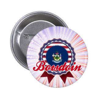 Bowdoin, ME Pinback Button