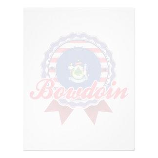 Bowdoin, ME Letterhead