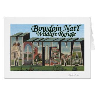 Bowdoin Nat'l Wildlife Refuge, Montana Card
