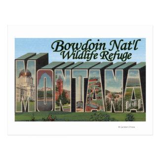 Bowdoin Nat'l Wildlife Refuge, Montana Postcard