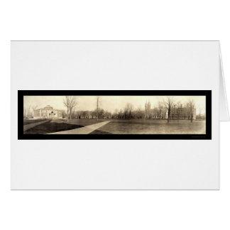 Bowdoin Panoramic Photo 1910 Card