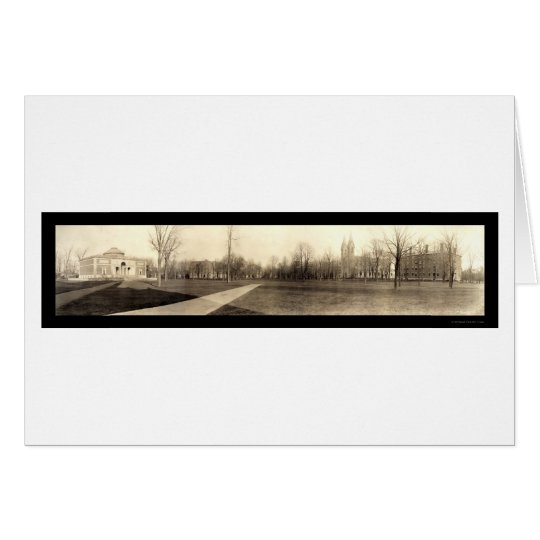 Bowdoin Panoramic Photo 1910 Card
