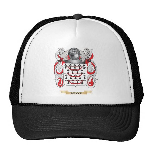 Bowe Coat of Arms (Family Crest) Trucker Hat