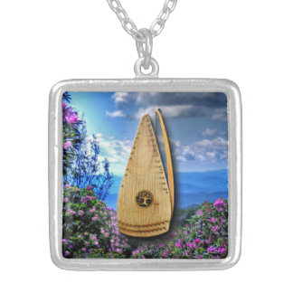 Bowed Psaltery Necklace