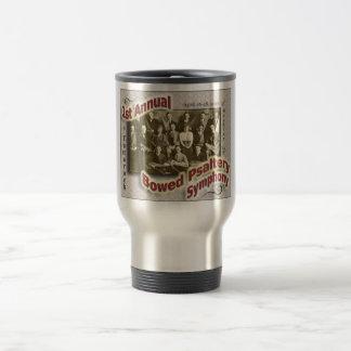 Bowed Psaltery Symphony - Stainless Travel Mug