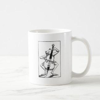 Bowed well coffee mugs