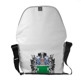 Bower Coat of Arms - Family Crest Messenger Bag