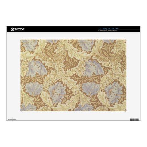 "'Bower' wallpaper design 15"" Laptop Decal"