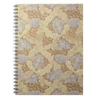 'Bower' wallpaper design Notebook