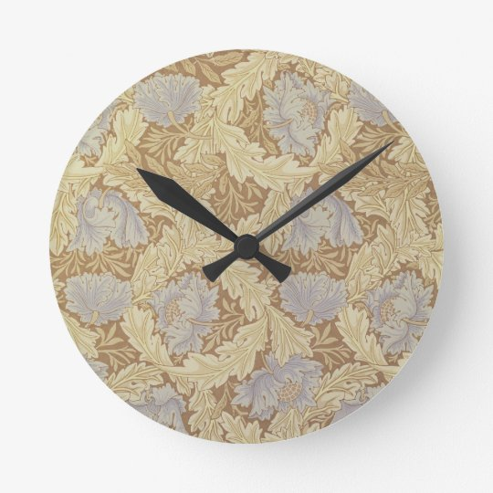 'Bower' wallpaper design Round Clock