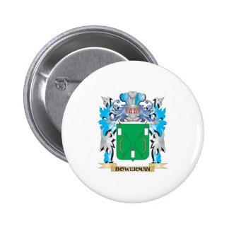 Bowerman Coat of Arms Button