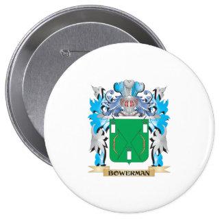 Bowerman Coat of Arms Pinback Buttons