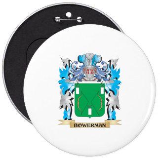 Bowerman Coat of Arms Pinback Button