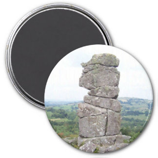 Bowermans Nose 3 Inch Round Magnet