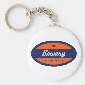 Bowery Key Chain