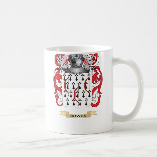 Bowes Coat of Arms (Family Crest) Classic White Coffee Mug