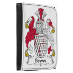 Bowes Family Crest Leather Wallet