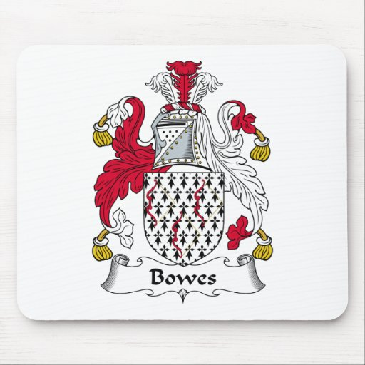 Bowes Family Crest Mouse Pad