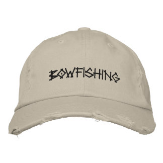 BOWFISHING Embroidered Hat