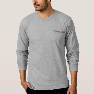 ¡Bowfishing, uno tiró una matanza! camiseta larga Playeras