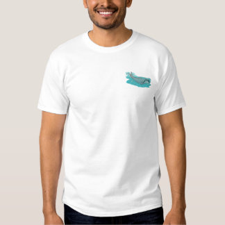 Bowhead Whale Embroidered T-Shirt