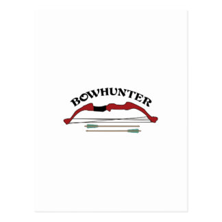 BOWHUNTER POSTCARD