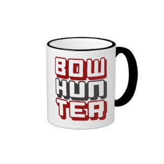 BOWHUNTER - Proud, Skilled & Ethical Archer, Red Ringer Mug
