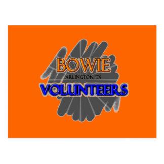 Bowie High School Volunteers - Arlington, TX Postcard