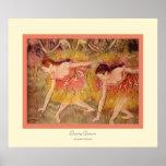 Bowing Dancers~ Edgar Degas Poster