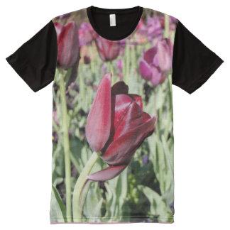 bowing tulip tshirt