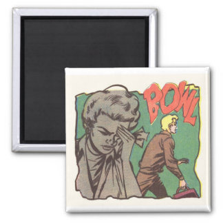 BOWL 2 INCH SQUARE MAGNET