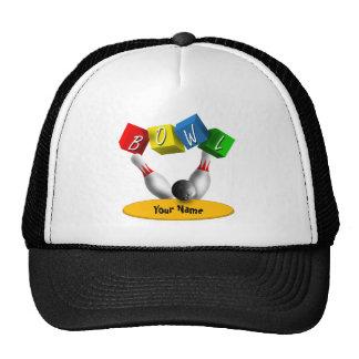 Bowl a Rama Bowling Trucker Hat