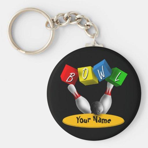 Bowl a Rama Bowling Key Chain