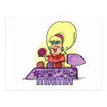 bowl-a-rama mama postcard