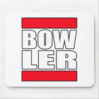 bowl bowling bowler mouse pad