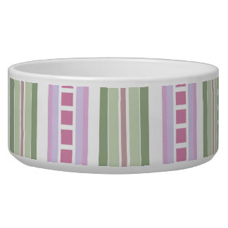 Bowl - Candy Striped for Phlox Dog Water Bowl