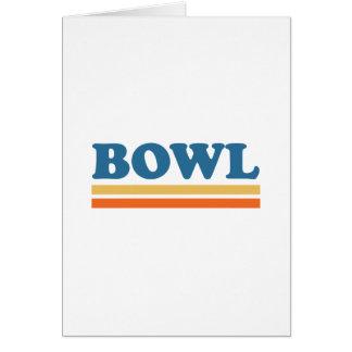 bowl card