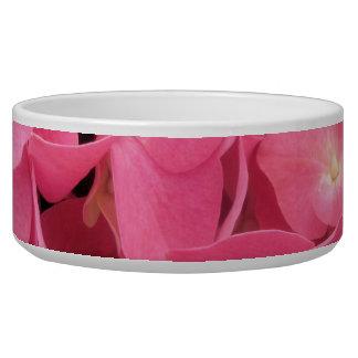 Bowl - Dark Pink Hydrangeas