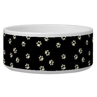 Bowl Dog/Cat Legs Black Beige/
