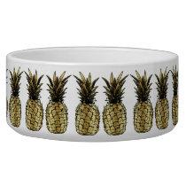 Bowl for ceramics animals Pineapple Gold