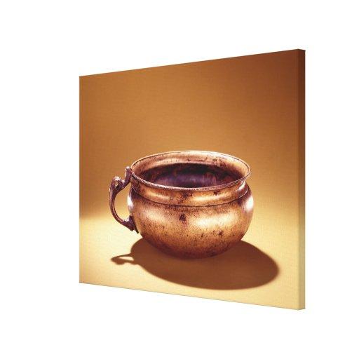 Bowl, from Keshcarrigan, County Leitrim Canvas Print