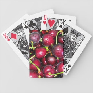 Bowl Full of Cherries Bicycle Playing Cards