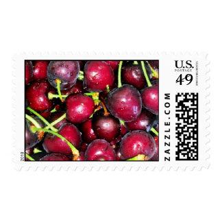 Bowl Full of Cherries Stamp