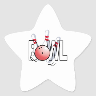 BOWL LARGE SIZE STAR STICKERS
