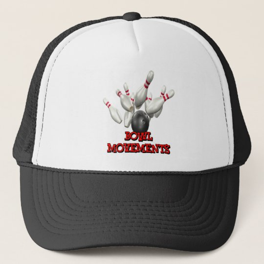 Bowl Movements Bowling Trucker Hat