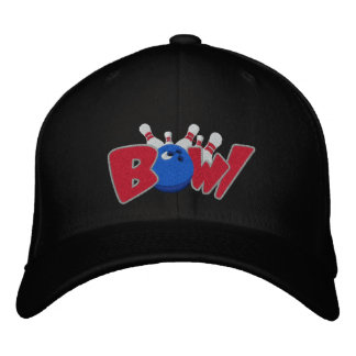 Bowl-o-rama Embroidered Baseball Cap