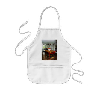Bowl of Apples on Table Kids' Apron