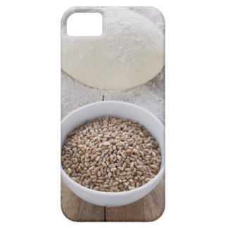 Bowl of Cereal Grain and Mound of Dough iPhone SE/5/5s Case